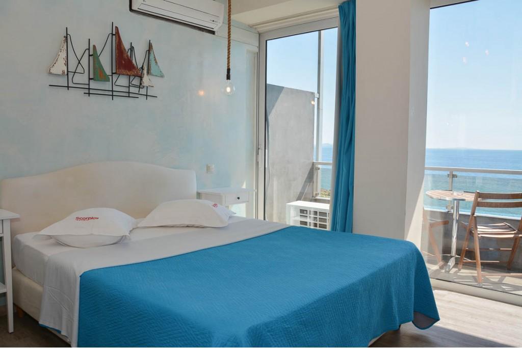 Δωμάτια με θέα θάλασσα
